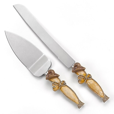 Hortense B. Hewitt, Country Flair Serving Set With Resin Handles