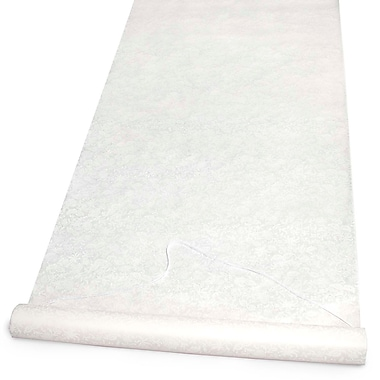 HBH™ Aisle Runner With Pull Cord, 36in. x 100', Ivory