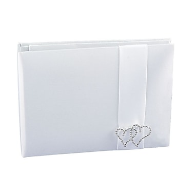 HBH™ With All My Heart Guest Book, White