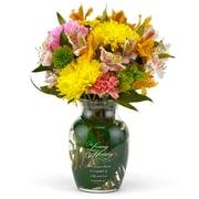 HBH™ In Loving Memory Crystal Vase, Clear