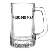 HBH™ 15 oz. Groomsman Glass Mug, Clear
