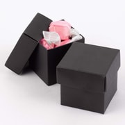 HBH™ 2-Piece Mix-and-Match Favor Boxes, Black
