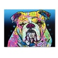 Trademark Fine Art 'The Bulldog' 18in. x 24in. Canvas Art