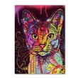 Trademark Fine Art 'Abyssinian' 18in. x 24in. Canvas Art
