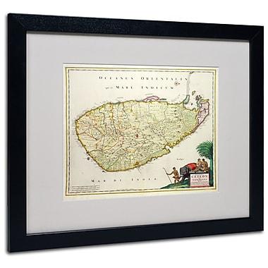 Trademark Fine Art 'Map of Ceylon 1626' 16