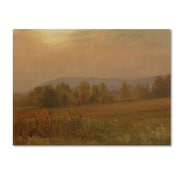 "Trademark Fine Art 'Autumn LandScape New England' 24"" x 32"" Canvas Art"