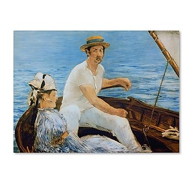 Trademark Fine Art 'Boating 1874' 24