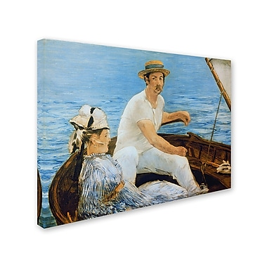 Trademark Fine Art 'Boating 1874'