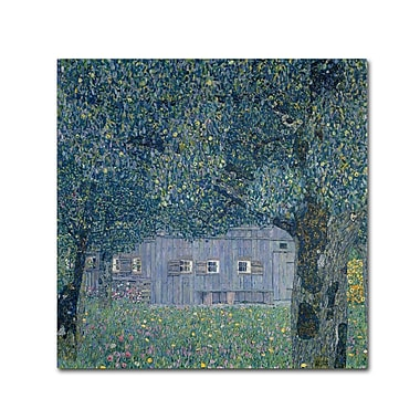 Trademark Fine Art 'Farmhouse In Upper Austria' 35