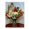 Trademark Fine Art 'Flowers In a Vase 1898'