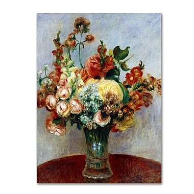 Trademark Fine Art 'Flowers In a Vase 1898' 18