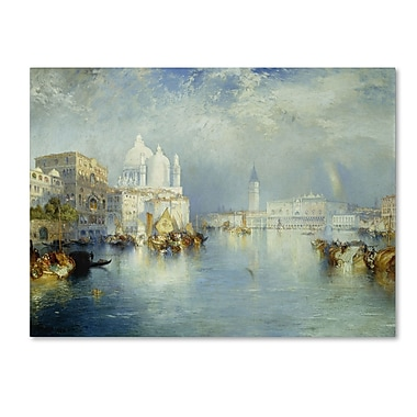Trademark Fine Art 'Grand Canal Venice 1903'