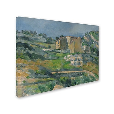Trademark Fine Art 'Houses In the Provence 1833' 18