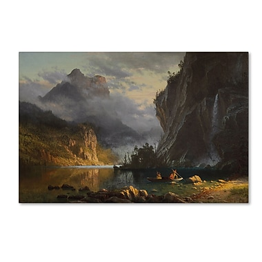 Trademark Fine Art 'Indians Spear Fishing 1862'