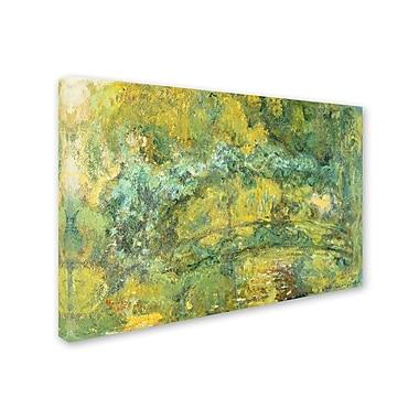 Trademark Fine Art 'Passage On 'Waterlily Pond 1919' 30