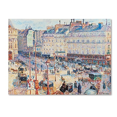 Trademark Fine Art 'Place du Havre 1893'