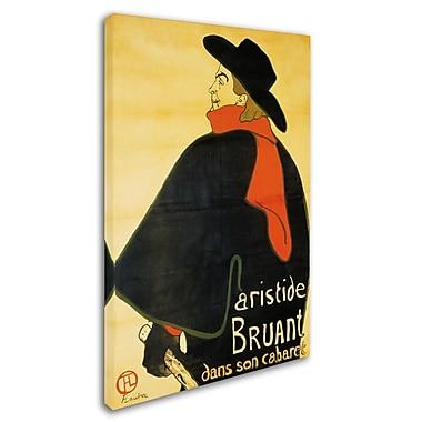 Trademark Fine Art 'Aristide Bruant' 22