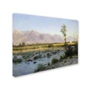 """Trademark Fine Art 'Prairie Landscape' 24"""" x 32"""" Canvas Art"""