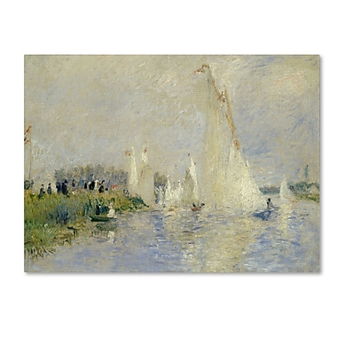 Trademark Fine Art 'Regatta at Argenteuil 1874'