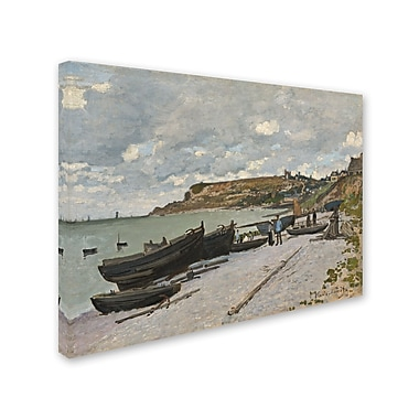Trademark Fine Art 'Sainte-Adresse 1867' 14