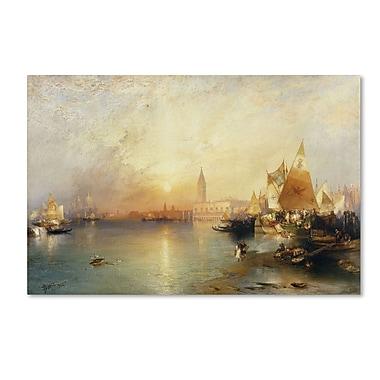 Trademark Fine Art 'Sunset Venice 1902' 30