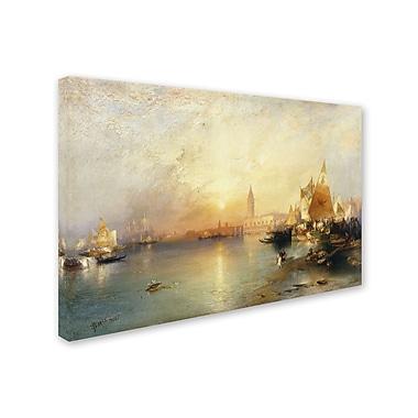 Trademark Fine Art 'Sunset Venice 1902' 16