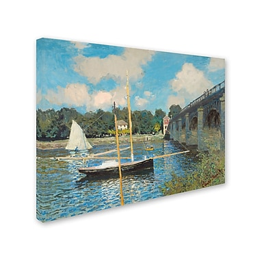 Trademark Fine Art 'The Bridge at Argenteuil 1874' 24