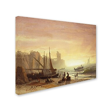 Trademark Fine Art 'The Fishing Fleet 1862' 18