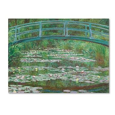 Trademark Fine Art 'The Japanese Footbridge 1899'