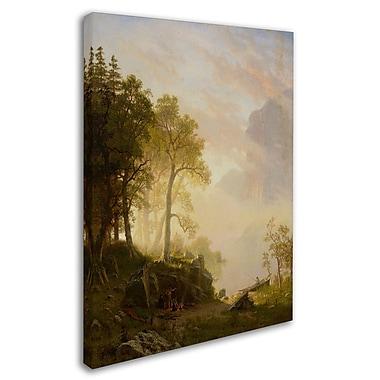 Trademark Fine Art 'The Merced River In Yosemite' 24
