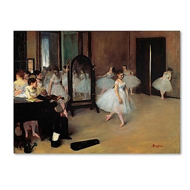 Trademark Fine Art 'The School of Dance 1871'