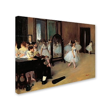 Trademark Fine Art 'The School of Dance 1871' 24