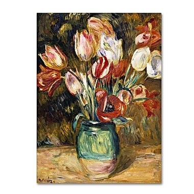 Trademark Fine Art 'Vase de Fleurs 1888-89'