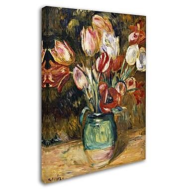 Trademark Fine Art 'Vase de Fleurs 1888-89' 24