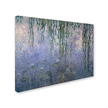 Trademark Fine Art 'Water Lilies III 1840-1926' 24