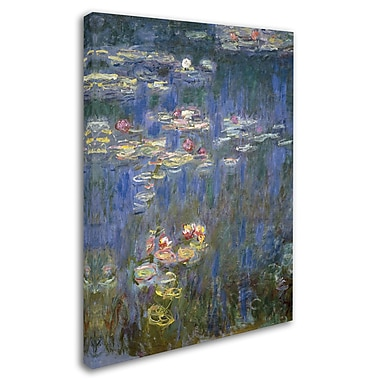 Trademark Fine Art 'Water Lilies IV 1840-1926' 18