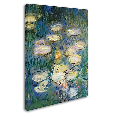 Trademark Fine Art 'Water Lilies V 1840-1926' 18