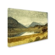 "Trademark Fine Art 'Wind River Country' 18"" x 24"" Canvas Art"