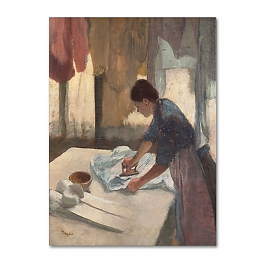 Trademark Fine Art 'Woman Ironing 1876-87'