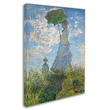 Trademark Fine Art 'Woman With a Parasol 1875' 18