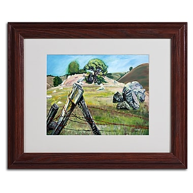 Trademark Fine Art 'Nicasio Fence Post' 11