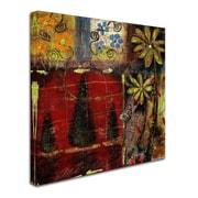 "Trademark Fine Art 'Landscape I' 35"" x 35"" Canvas Art"