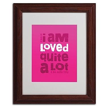 Trademark Fine Art 'Loved a Lot III' 11