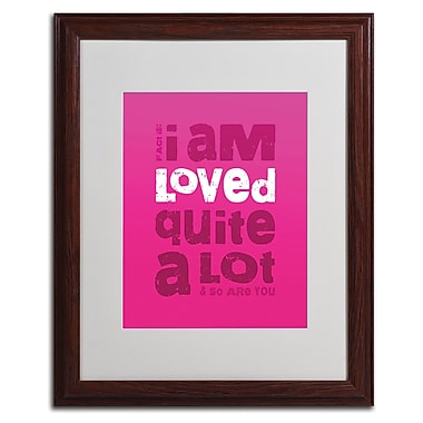 Trademark Fine Art 'Loved a Lot III' 16
