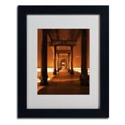 "Trademark Fine Art 'Chocolate Bar' 11"" x 14"" Black Frame Art"