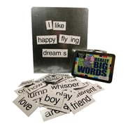 "S&S® 4 1/4"" X 5 1/2"" X 2 1/4"" Really Big Words Magnetic Poetry Kit"