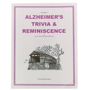 S&S® Alzheimer's Trivia & Reminiscence Book Volume 4