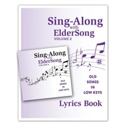 Eldersong® Sing-Along With Eldersong CD and Lyrics Book Volume 2