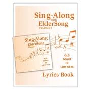 Eldersong® Sing-Along With Eldersong CD and Lyrics Book Volume 4