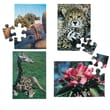 S&S® E-Z™ 17in. X 12in. 28 Pieces Puzzle Set B, Cheetah/Giraffe/Flower/Tree